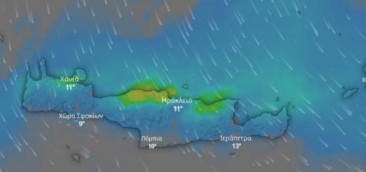 Βροχές με το τέλος του Μάρτη στην ανατολική Κρήτη;; (νεώτερα)
