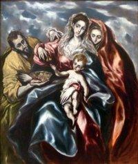 El Greco La Sagrada Familia