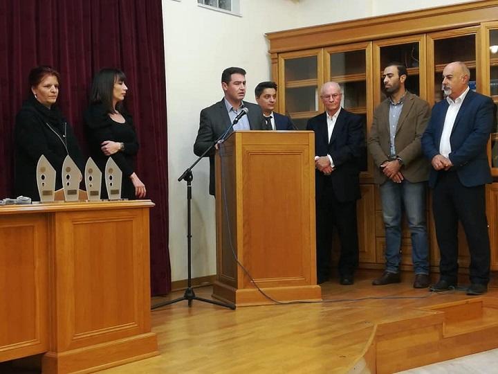 ετήσια τελετή βράβευσης των μαθητών των Λυκείων του Δήμου Χερσονήσου