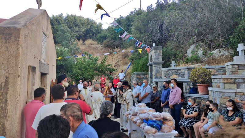 Ο Αρχιερατικός Εσπερινός της εορτής του Αγίου Σίλα στο Καλό Χωριό