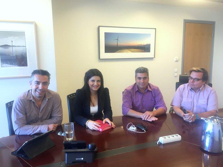 Συναντήσεις με τις νέες Διοικήσεις του ΔΕΔΔΗΕ και της ΡΑΕ για το ενεργειακό μέλλον της Κρήτης είχε στην Αθήνα η Αντιπεριφερειάρχης Βιργινία Μανασάκη – Ταβερναράκη