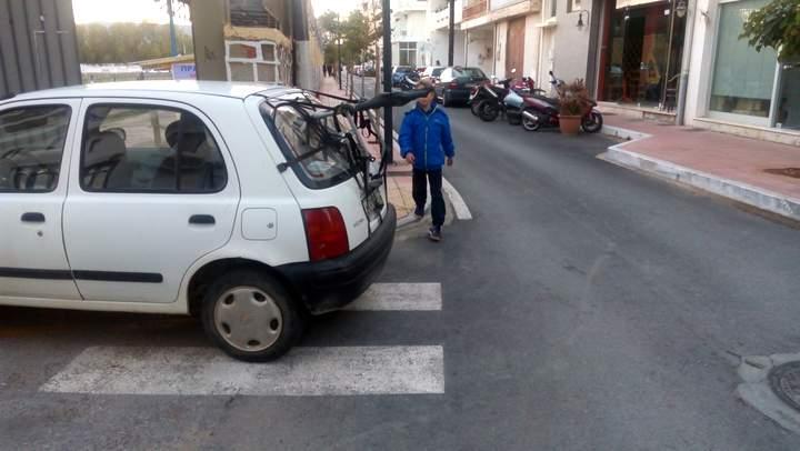 Σχάρα μεταφοράς ποδηλάτων, εν δυνάμει κίνδυνος