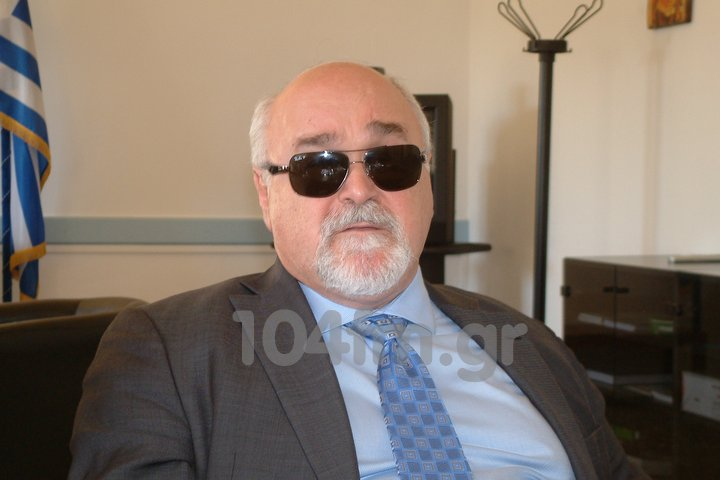 ο  Ιωάννης βαρδακαστάνης Πρόεδρος  της Ελληνικής Συνομοσπονδίας Ατόμων με Αναπηρίες