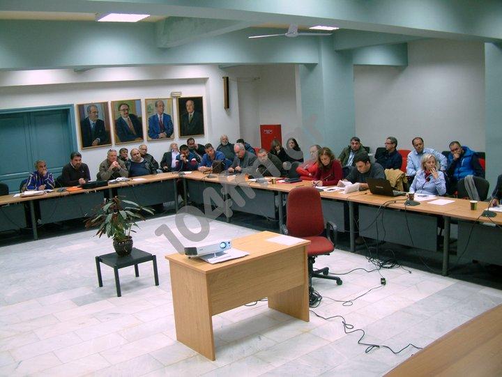 Δημοτικό Συμβούλιο Αγ Νικολάου συνεδρίαση 30-08-2017
