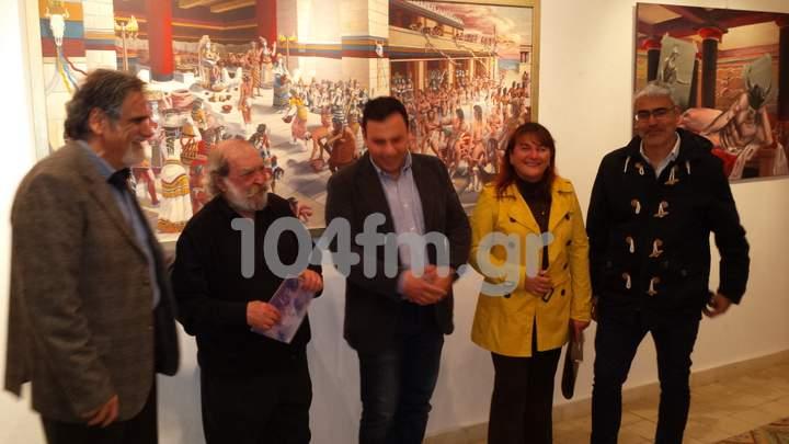 Ρουσσέτος Παναγιωτάκης έκθεση στη δημοτική πινακοθήκη Αγίου Νικολάου