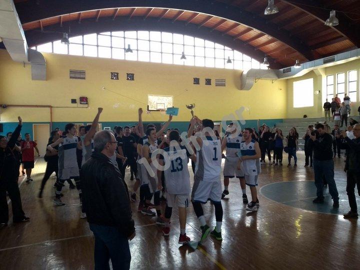 Το 3ο Γενικό Λύκειο Χανίων νικητής στο Παγκρήτιο σχολικό πρωτάθλημα μπάσκετ