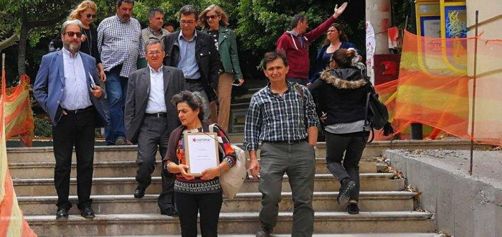 Ξαστεριά, ανατροπή στη Κρήτη, κατάθεση συνδυασμού
