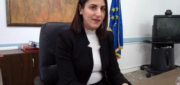 Με τη Μαρία Δαμανάκη, νέα πρόεδρο του Κέντρου Κοινωνικής Πρόνοιας