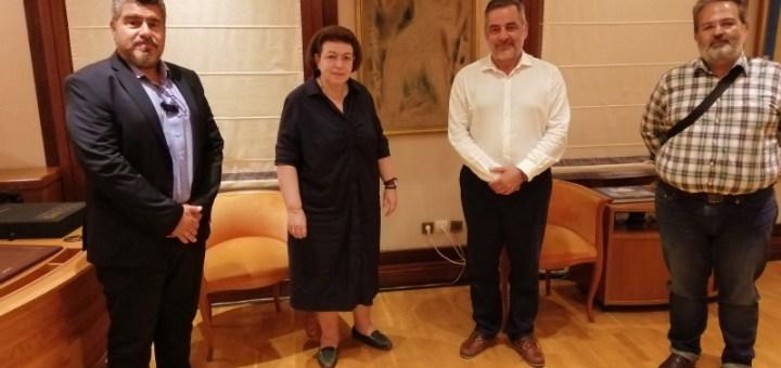 Επαφές δημάρχου οροπεδίου Λασιθίου στο Υπουργείο Πολιτισμού