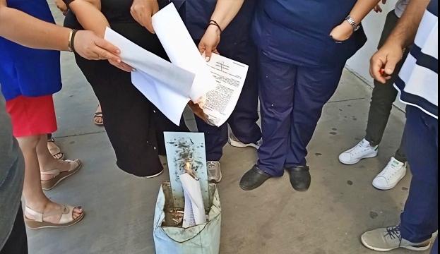 Συνεχίζονται οι κινητοποιήσεις του Συλλόγου Εργαζομένων ΓΝΑΝ ενάντια στις αναστολές εργασίας