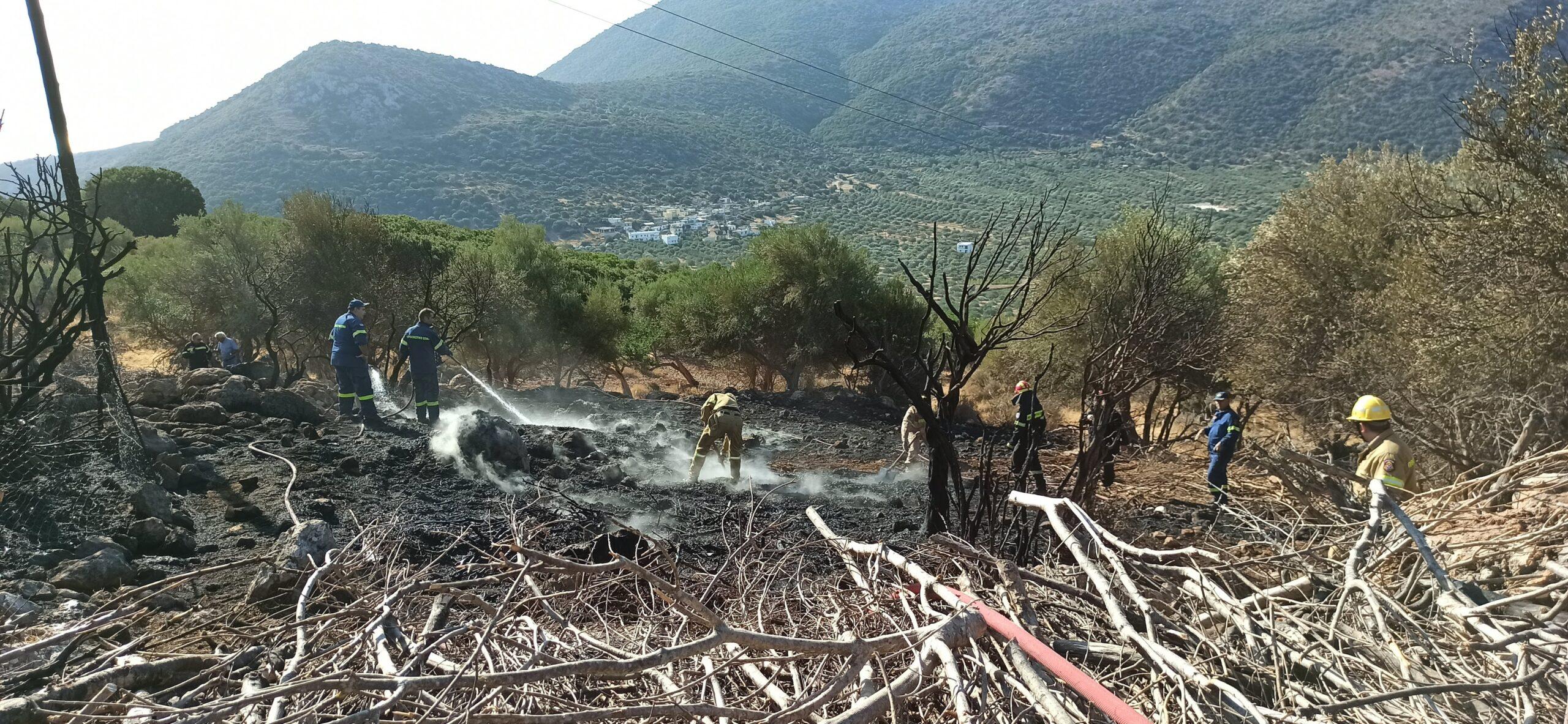 Παραλίγο να καούν τα Λακώνια, οι πυροσβεστικοί κρουνοί δεν είχαν νερό