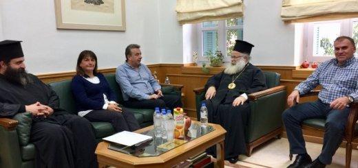 στήριξη της Περιφέρειας Κρήτης στην ανακαίνιση της Ιεράς Μονής Φανερωμένης