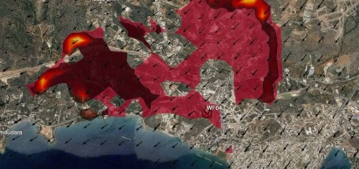 IRIS, πως θα εξελισσόταν η πυρκαγιά στον Άγ. Νικόλαο στις 26 Ιουνίου