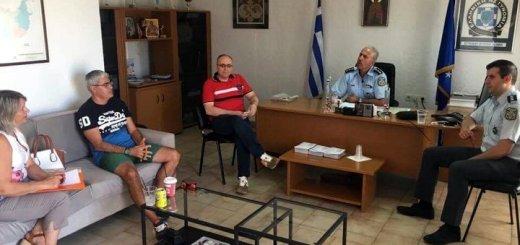 Συνάντηση εργασίας για κυκλοφοριακά θέματα και ζητήματα αστυνόμευσης