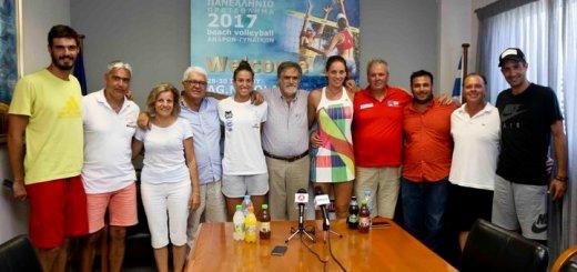 Άνοιξε η αυλαία στα τελικά του Beach Volley Masters 2017