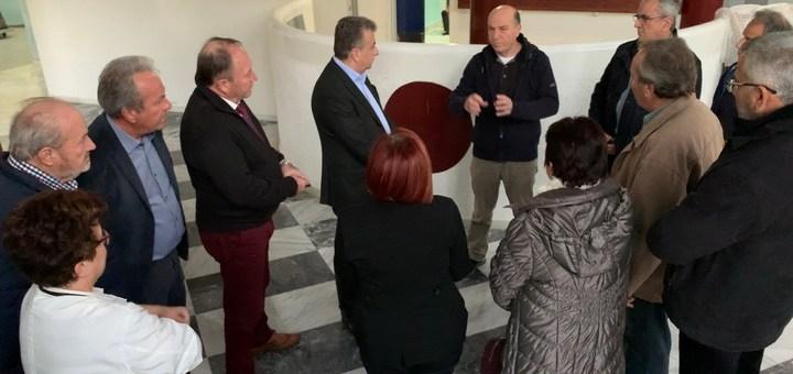Η Περιφέρεια θα χρηματοδοτήσει την ενεργειακή αναβάθμιση του Νοσοκομείου Σητείας