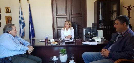 Συνάντηση Συντονίστριας Αποκεντρωμένης Διοίκησης με τον Αερολιμενάρχη