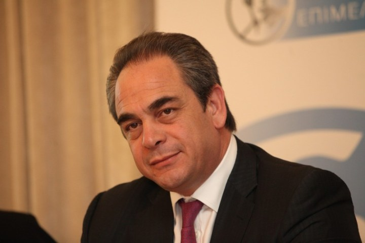 ο πρόεδρος της Κεντρικής Ένωσης Επιμελητηρίων Ελλάδος Κ. Μίχαλος
