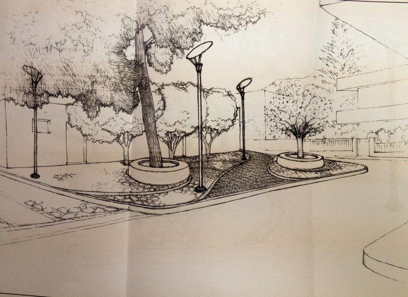 το σχέδιο για τη πλατεία