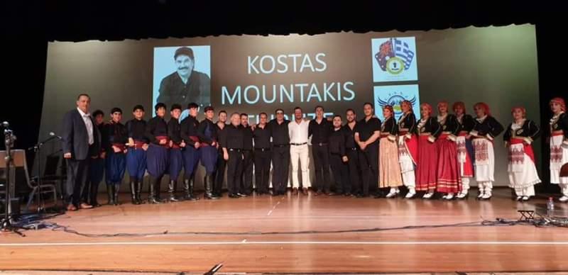 Οι Κρήτες της Αυστραλίας τίμησαν τον Κώστα Μουντάκη