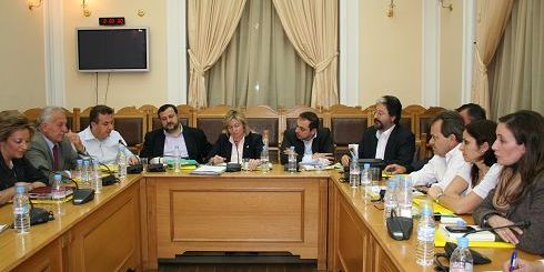 η κ. Σχοιναράκη με τους Βουλευτές Ηρακλείου