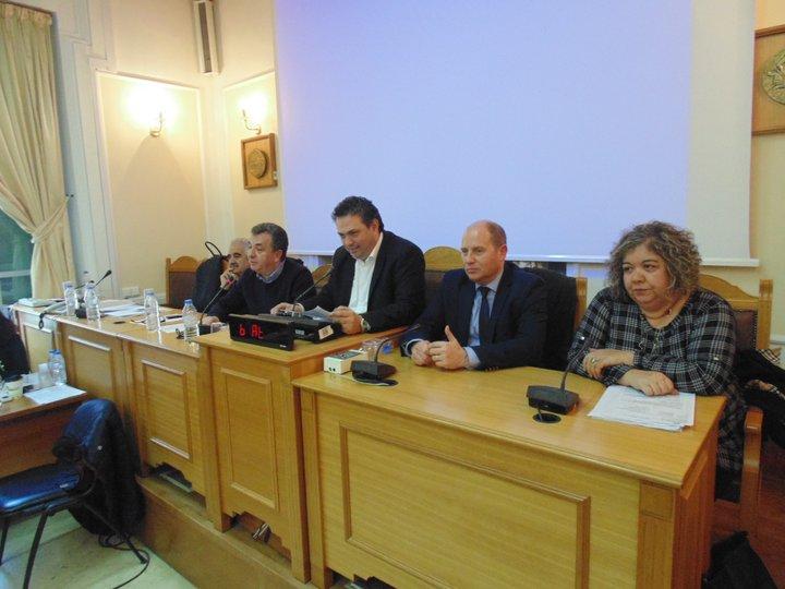 η Μαρία Βάρδα γραμματέας του Περιφερειακού συμβουλίου