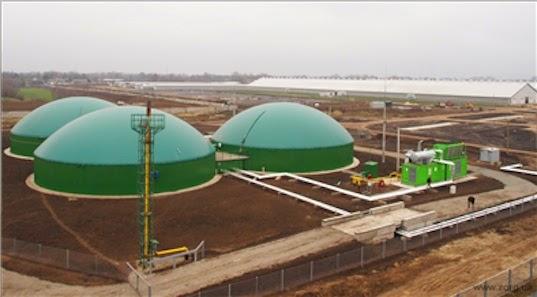 μονάδα παραγωγής βιοαερίου