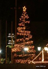 χριστουγεννιάτικο δένδρο