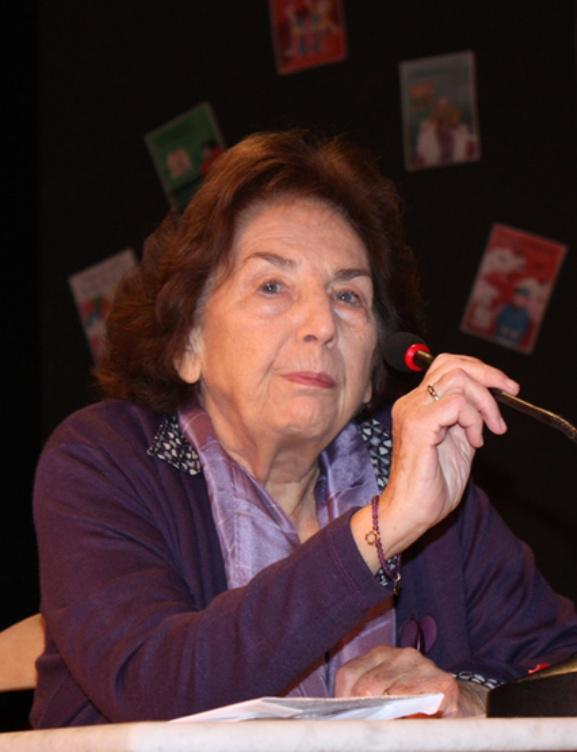 Η Άλκη Ζέη είναι μια σπουδαία ελληνίδα λογοτέχνις