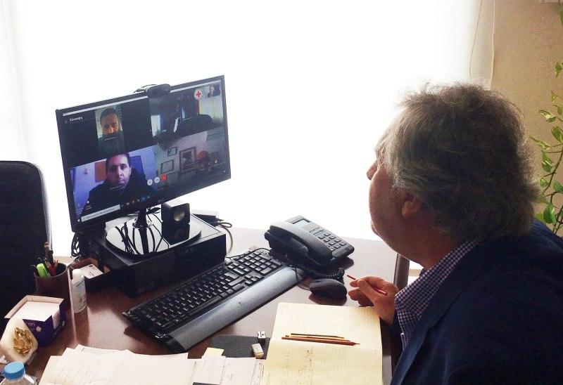Σητεία, πρώτη τηλεδιάσκεψη της Επιτροπής Πολιτικής Προστασίας για τον Κορωνοϊό