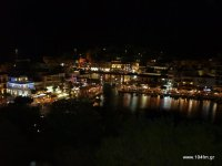 Άγιος Νικόλαος, by night