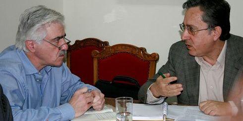 Από προηγούμενη συνάντηση του Νομάρχη με τον κ. Καρούντζο