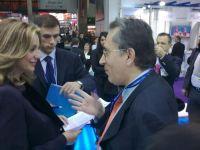 Ο νομάρχης Λασιθίου με την Υφυπουργό Τουρισμού κ. Γκερέκου