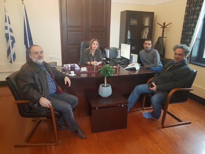 Συνάντηση της Συντονίστριας Αποκεντρωμένης Διοίκησης με τον Περιφερειακό Διευθυντή Εκπαίδευσης