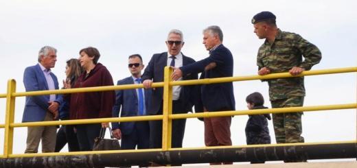 Με τον Υπουργό Άμυνας συναντήθηκε η Αντιπεριφερειάρχης Λασιθίου