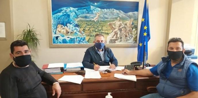Σύμβαση για την διευθέτηση των ομβρίων Πλάτης