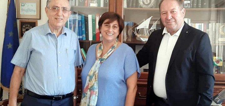 Με Πετράκη και Αναστασάκη συναντήθηκε ο Αντιπεριφερειάρχης Λασιθίου