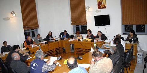 Δημοτικο Συμβούλιο Νεάπολης, από τη συνεδρίαση