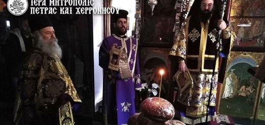 Η Εορτή του Οσίου Αλεξίου, ανθρώπου του Θεού – η πρώτη Θεία Λειτουργία των Προηγιασμένων Τιμίων Δώρων