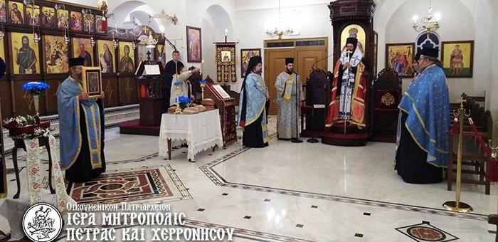 Ασυνήθιστος αλλά το ίδιο πανηγυρικός ο φετινός εορτασμός του Πολιούχου και Προστάτου της πόλεως του Αγίου Νικολάου