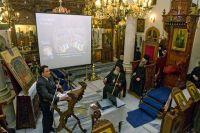 Από την εκδήλωση, ο κ. Στριλιγκάς στο βήμα