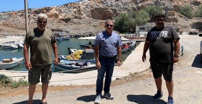 Νέες εργασίες ξεκινούν στο αλιευτικό καταφύγιο Παχειάς Άμμου