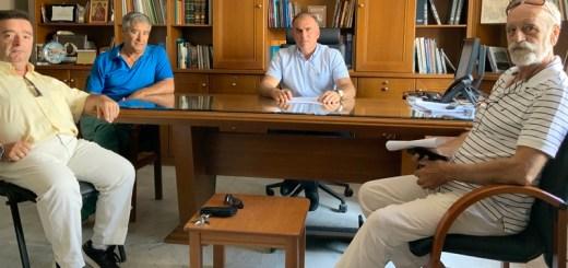 Συνάντηση του Δημάρχου με τον Πολιτιστικό Σύλλογο Θρυπτής