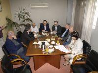 από τη συνάντηση στο Δημαρχείο Αγίου Νικολάου