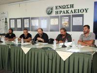 οι πρόεδροι των κτηνοτρόφων ενημερώνουν τους υποψηφίους βουλευτές