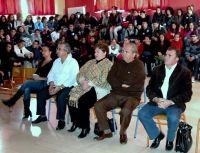 Ο Δήμαρχος με τους μαθητές και καθηγητές των σχολείων