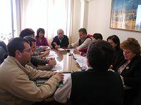εκπρόσωποι της ΝΑΛ με τη Περιφέρεια