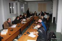το νομαρχιακό συμβούλιο Λασιθίου κατά τη συνεδρίαση