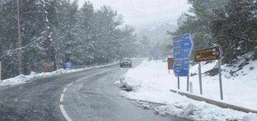 Ολικός παγετός και στους δρόμους