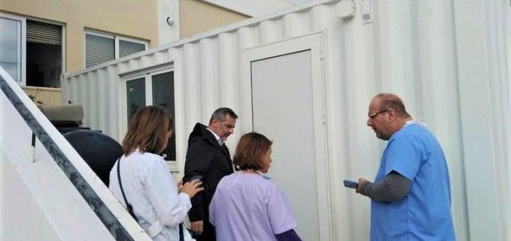 Ο Δήμος οροπεδίου Λασιθίου προμηθεύτηκε και παραχωρεί θάλαμο στο κέντρο υγείας για πιθανά κρούσματα κορωνοϊού